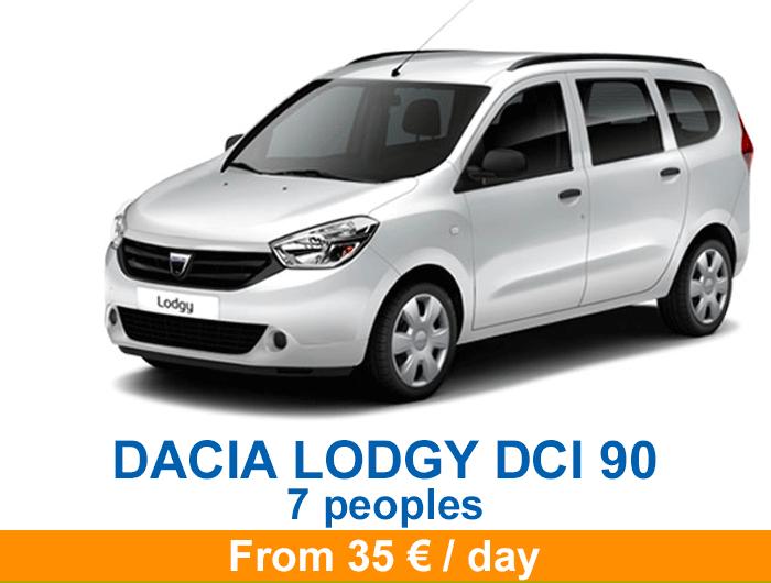 Dacia lodgy en