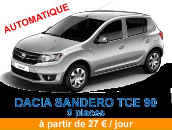 Dacia sandero tce bva 2