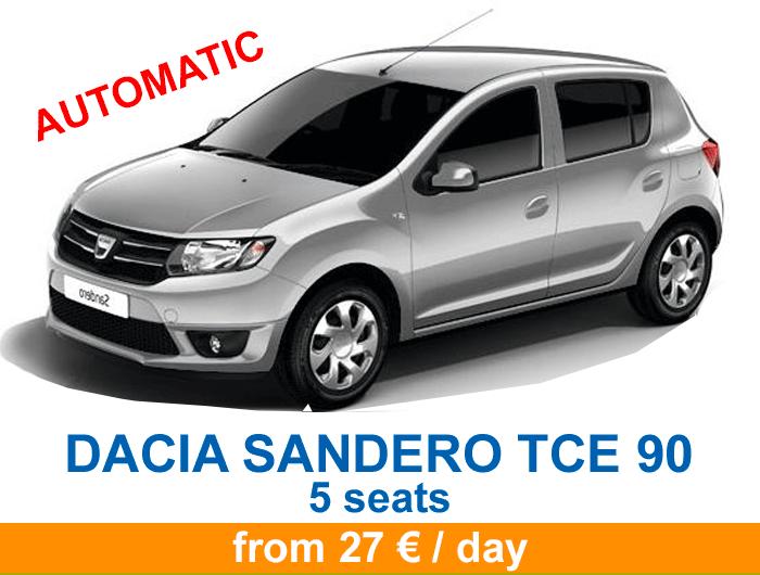 Dacia sandero tce bva en 2