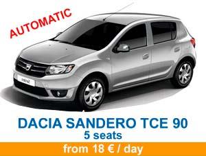 Dacia sandero tce bva en 2021