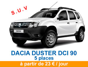 Duster price banner 2020