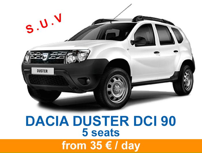 Duster price banner en 5