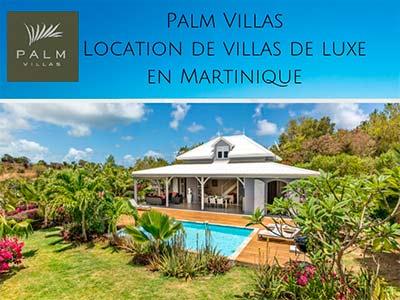 Palm villas Partenaire Autorent location voiture martinique