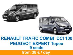 Renault trafic peugeot tepee en 2