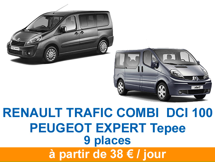 Renault trafic peugeot tepee